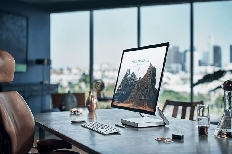 Microsoft studio surface